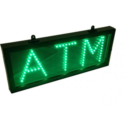 ATM LED Motion Lighted Sign  SM. 6.5